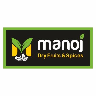 manoj dry fruit logo